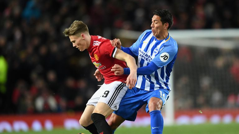 McTominay played his worst game for United, according to his manager