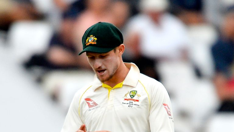 Cameron Bancroft was banned for nine months for his part in ball-tampering scandal