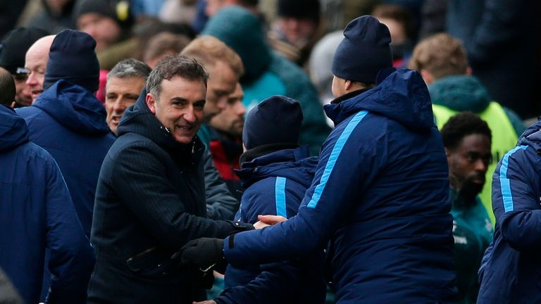 Carlos Carvalhal insists there are better days ahead after Swansea's FA Cup quarter-final defeat