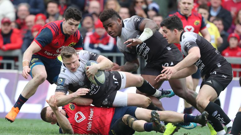 Chris Ashton looked to have won it with his try for the lead on 65 minutes