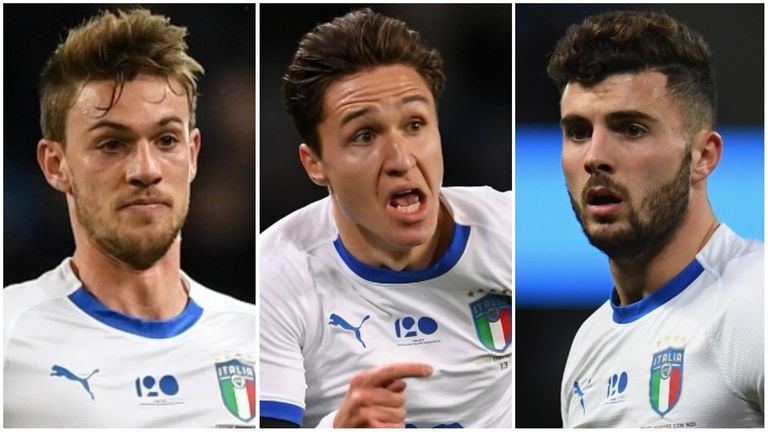 Daniele Rugani, Federico Chiesa and Patrick Cutrone could all be Italy regulars