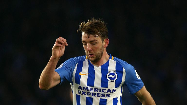 Dale Stephens is a doubt for Brighton