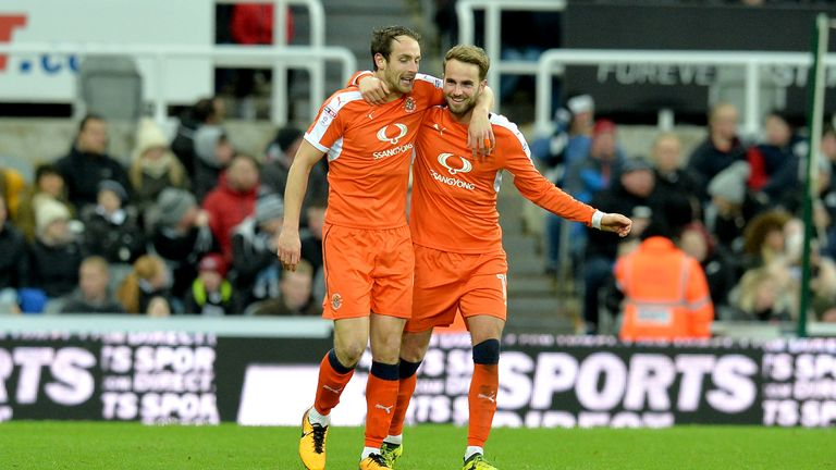 Only Manchester City have scored more league goals than Luton this season