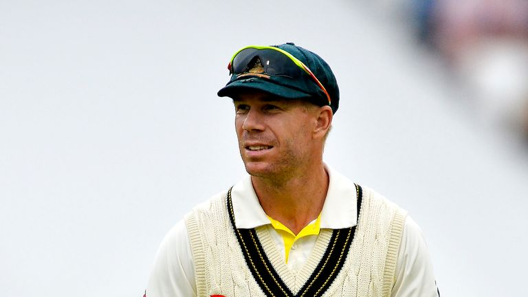 David Warner says he has 'learned a valuable lesson' following the ball-tampering scandal