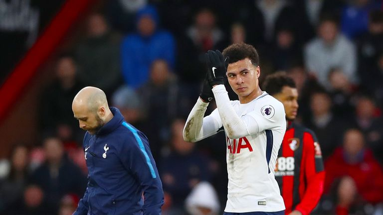 Mauricio Pochettino says he cannot understand why Dele Alli is criticised