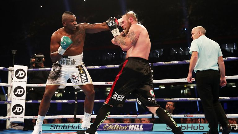 The 29-year-old completed a 12-round points win over Robert Helenius in October