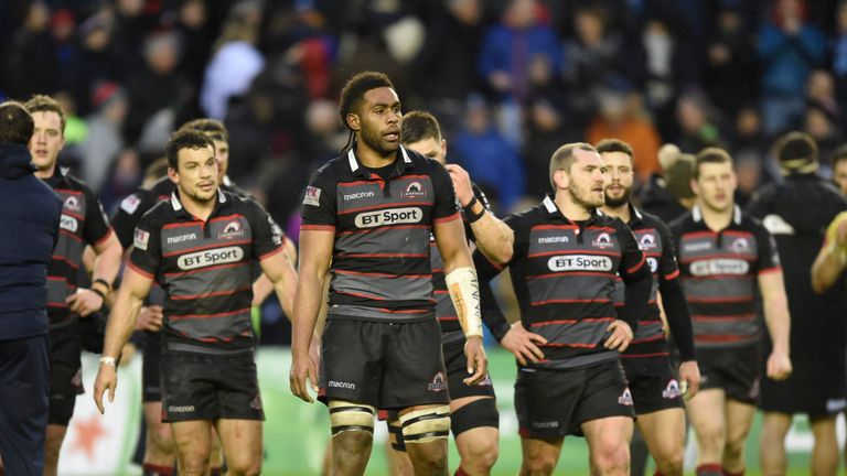 Edinburgh lost for the first time in six games on Saturday