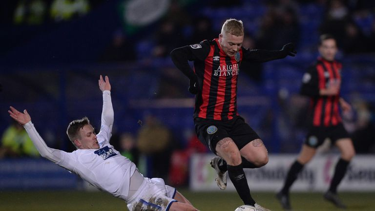 Elliott Durrell has had a big impact for Macclesfield Town in recent times