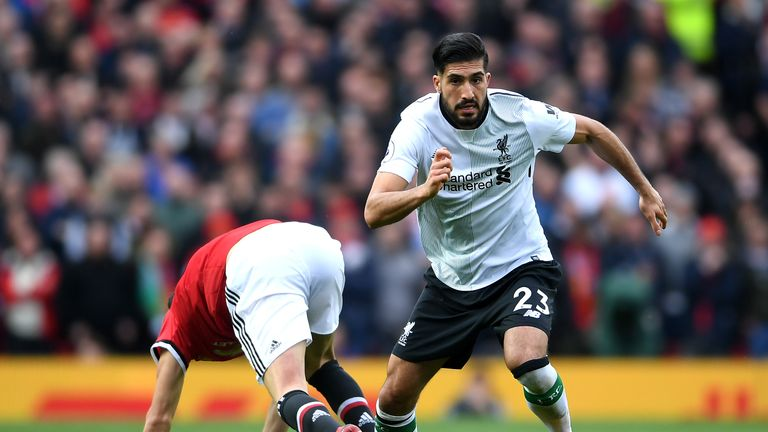 Will Emre Can be leaving Liverpool this summer?