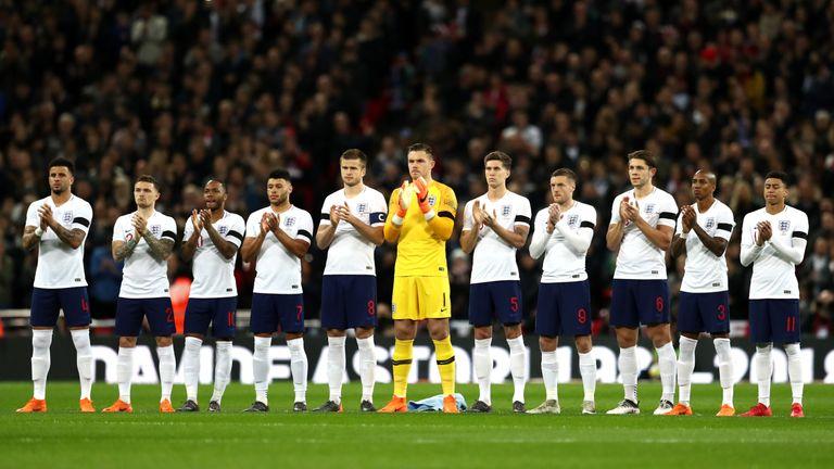 England face Nigeria in a friendly on Saturday