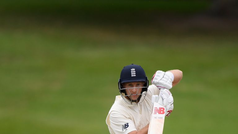 Joe Root took over the England captaincy from Cook, and outshone him in their final tour match in New Zealand by scoring 115 against a New Zealand XI