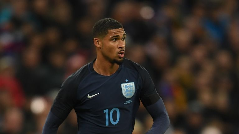 Ruben Loftus-Cheek in action for England against Germany at Wembley