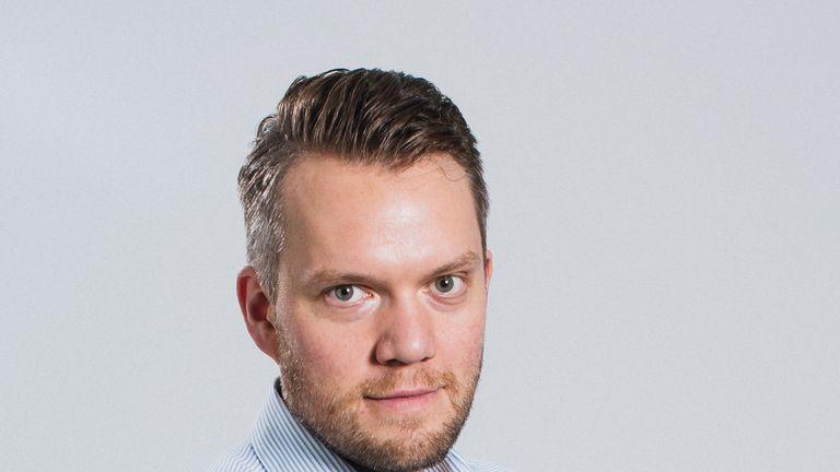 Christian Sorensen, CEO of North (credit: Jonas Kekko)