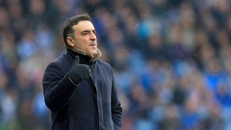 Carlos Carvalhal left Swansea in the summer