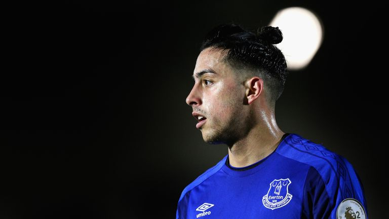 Ramiro Funes Mori is eyeing a return to the Everton first team following his comeback from injury