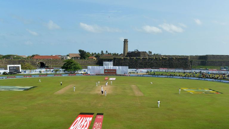 England play their next Test match at the Galle International Stadium against Sri Lanka on November 6