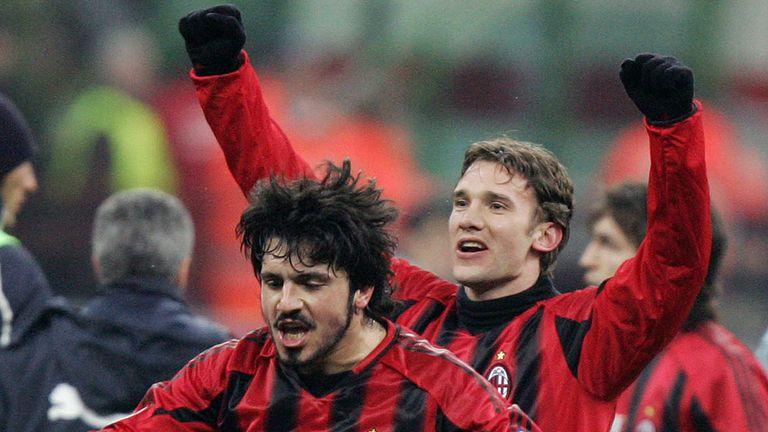 Gattuso spent 12 seasons at AC Milan as a player, winning two Serie A titles