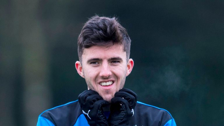 Sean Goss is enjoying life at Rangers after joining on loan from QPR