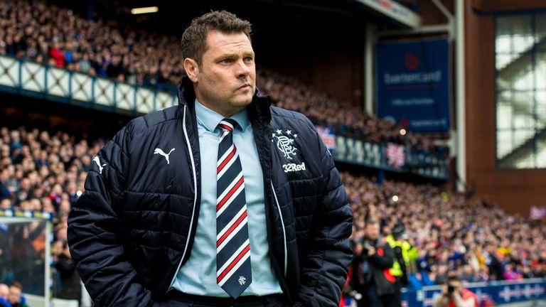 Graeme Murty is in charge at Rangers until the summer