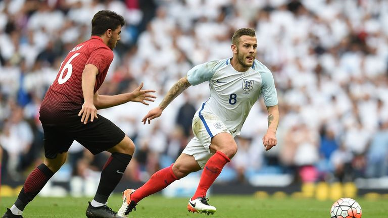 Wilshere has not represented England for almost two years