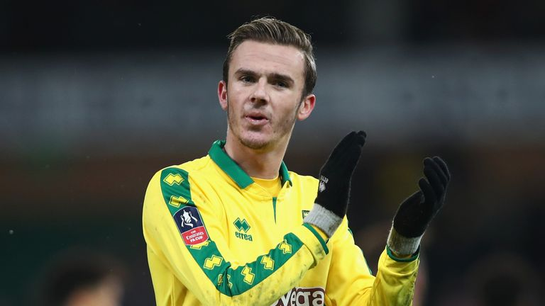 Maddison made his name at Norwich