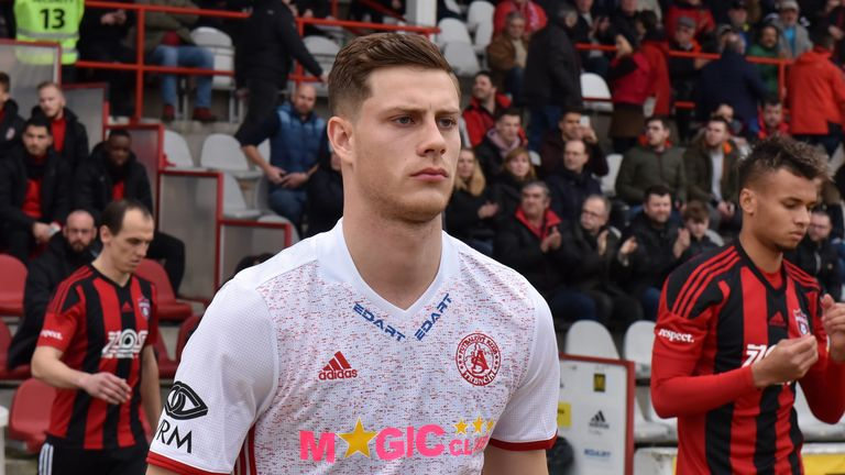 Englishman Jamie Lawrence is enjoying success in Slovakia with AS Trencin