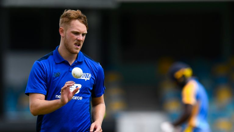 Jamie Porter played for the North in 2018 but managed just one wicket in two one-day matches