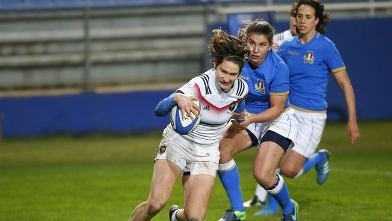Jessy Tremouliere landed the Women's 15s Player of the Year award