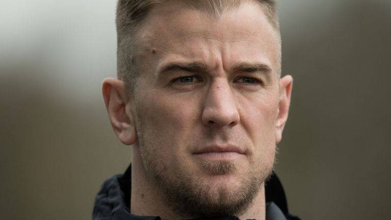 Hart spent 12 years at Manchester City