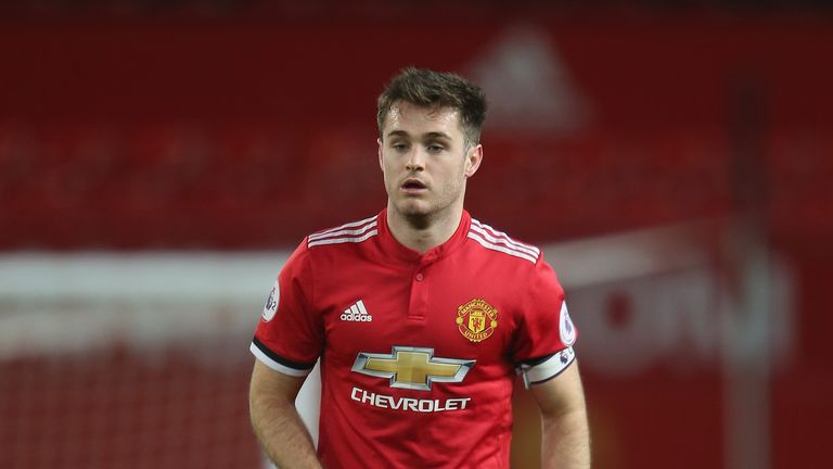 Joe Riley scored the equaliser for United's youngsters on Friday night