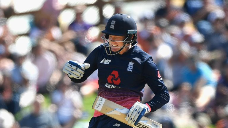 Jonny Bairstow scored his third ODI ton - but his downfall hastened an England slump