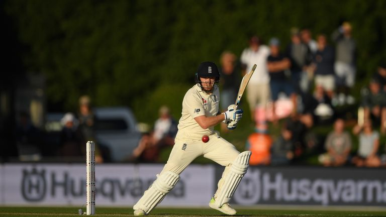Jonny Bairstow during day  one of the Second Test Match between the New Zealand Black Caps and England at Hagley Oval on March 30, 2018 in Christchurch, New Zealand.