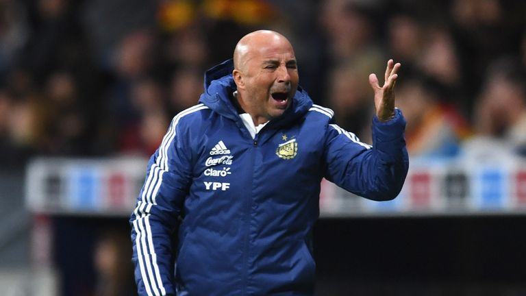 Sampaoli insists he remains in charge of team selection