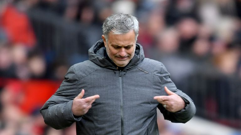 Mourinho is not interested in when City can win the title