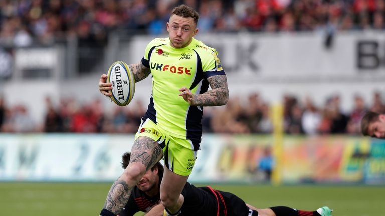 Josh Charnley made 32 appearances for Sale Sharks
