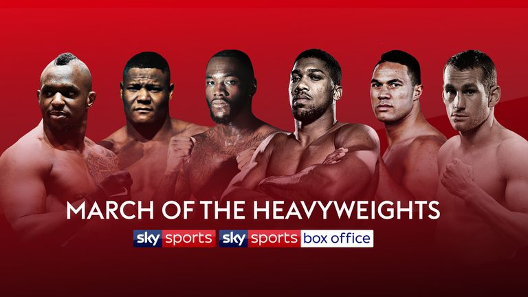 Joshua, Wilder, Parker, Price, Whyte and Ortiz all star in Sky Sports and Sky Sports Box Office's March of the Heavyweights