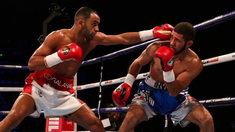 Galahad (l) will set up a world-title tilt if he wins