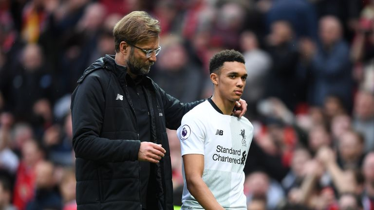 Jurgen Klopp has backed Trent Alexander-Arnold to go to the World Cup