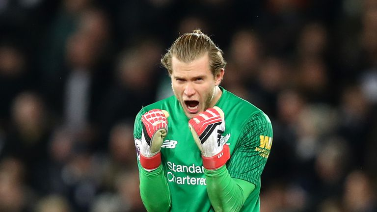 Loris Karius has replaced Mignolet as Liverpool's first-choice keeper