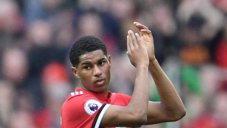 Rashford is aiming for FA Cup success and a second-placed finish with United before joining up with England