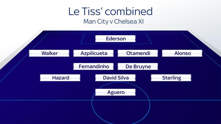 Matt Le Tissier's combined Man City v Chelsea XI
