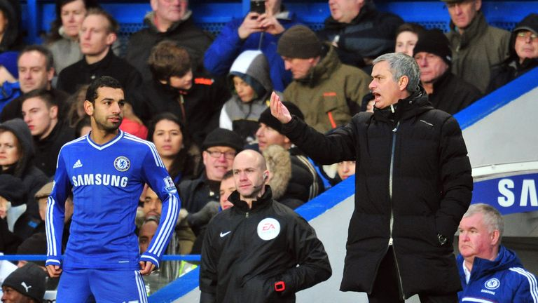 Jose Mourinho insists he was not the man behind Mohamed Salah's sale at Chelsea