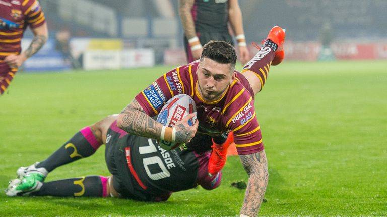 Oliver Roberts scored the home side's only try of the game