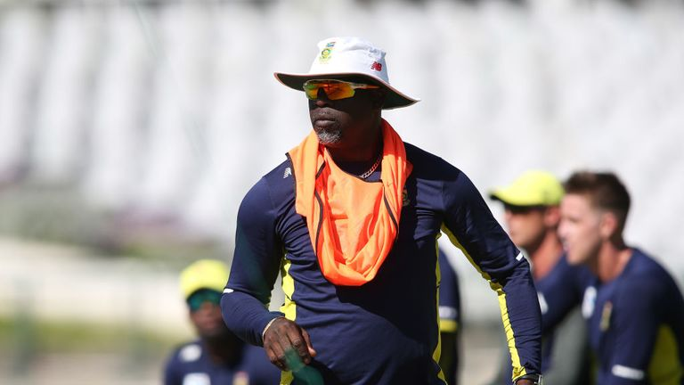 Ottis Gibson says there's been an edge throughout the series between South Africa and Australia