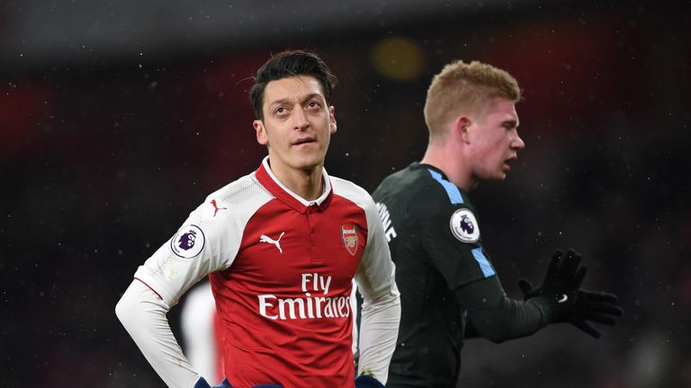Arsenal lost to City twice in recent weeks