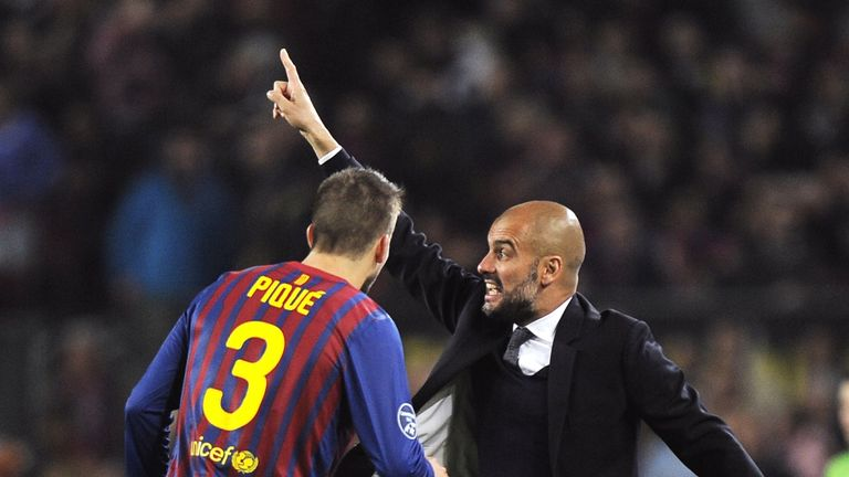 Pep Guardiola's Barcelona had huge success, winning the Champions League twice