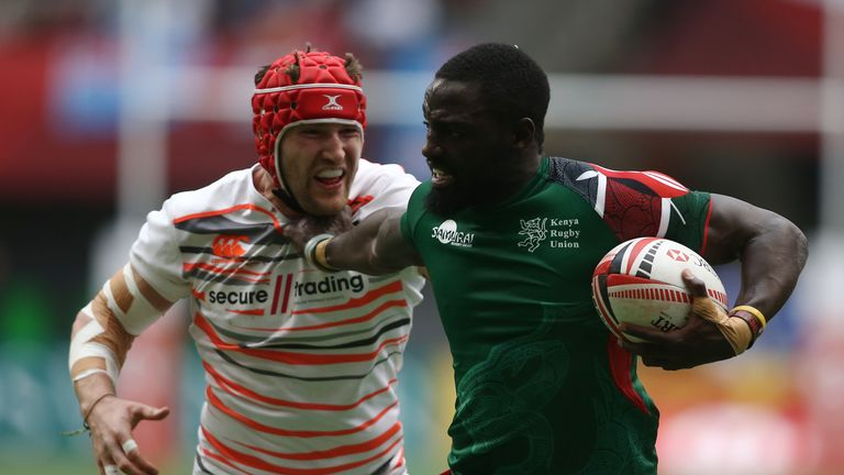 England Sevens suffered defeat at the quarter-final stage to Kenya on Saturday