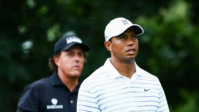 Tiger Woods and Phil Mickelson are playing together in practice ahead of the Masters