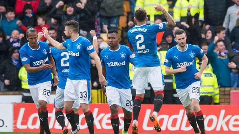 Rangers came back from two down against Motherwell