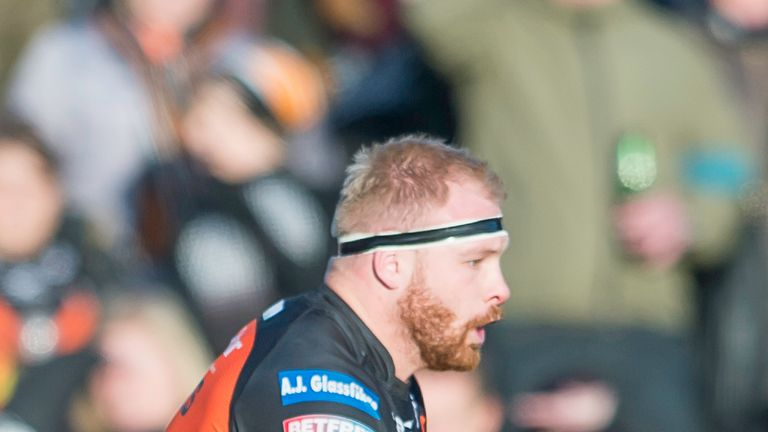 Castleford's Oliver Holmes faces a ban for an alleged spear tackle